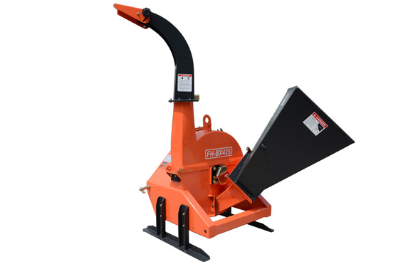 BX42S Tractor Wood Chipper include hight adjustable stand
